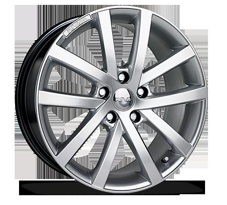 "17"" RIVA AVS Wheels - Hyper Silver - VW / Audi / Mercedes - 5x112"