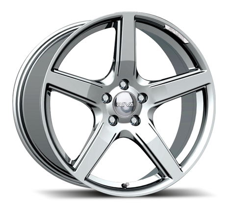 "17"" RIVA DBZ Wheels - Hyper Silver - VW / Audi / Mercedes - 5x112"