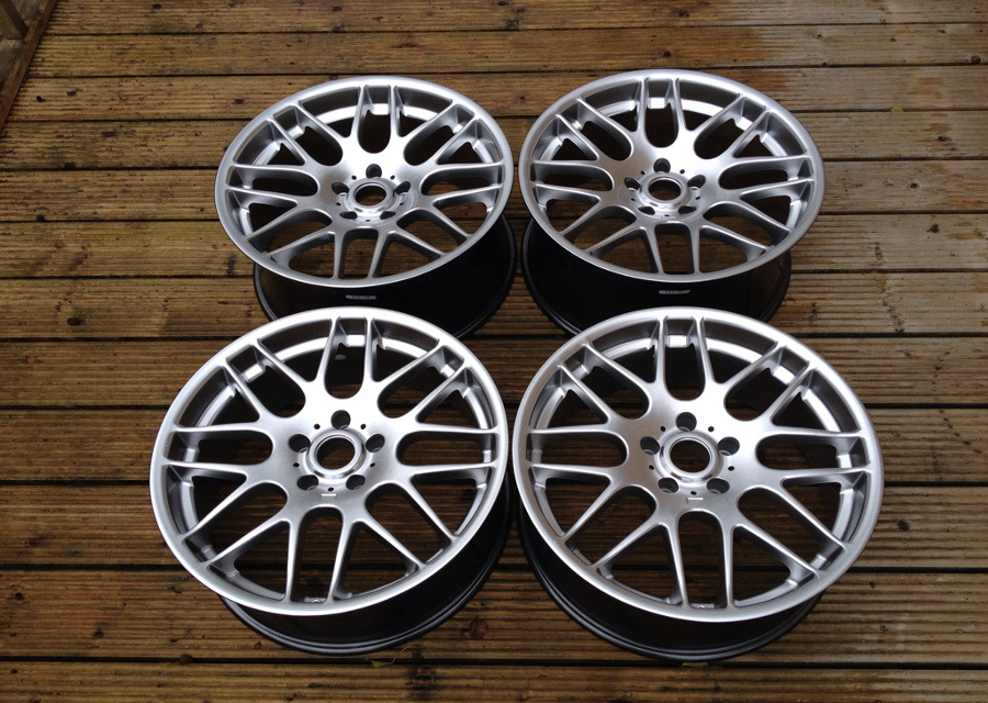 "19"" Staggered RIVA DTM (CSL Style) Wheels - Silver - E9x / Z4 / E36 / E46 / 1 Series"