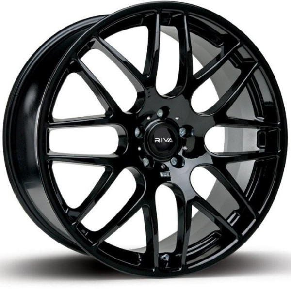 "18"" RIVA DTM (CSL Style) Wheels - Black - VW / Audi / Mercedes - 5x112"
