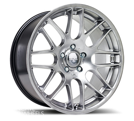 "17"" RIVA DTM Wheels - Platinum Silver - VW / Audi / MINI - 4x100"