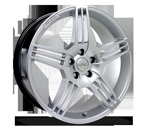 "18"" RIVA MAG Wheels - Hyper Silver - VW / Audi / Mercedes - 5x112"