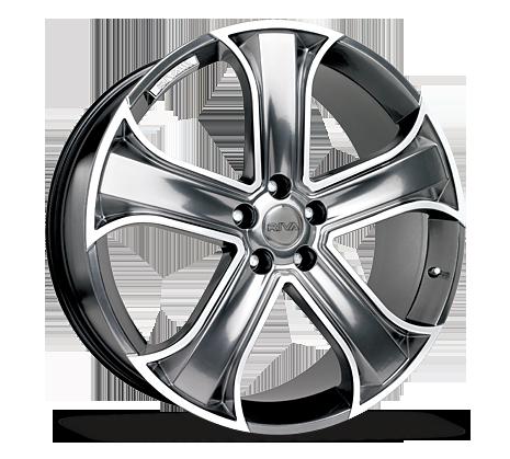 "22"" RIVA RVR Wheels - Platinum Silver - 4x4 - 5x112"