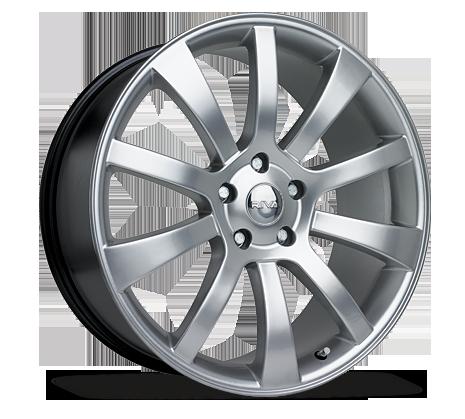 "22"" RIVA SUV Wheels - Hyper Silver - 4x4 - 5x112"