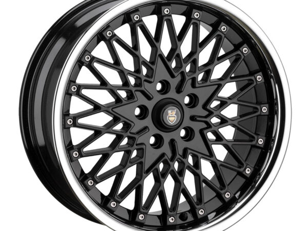 "17"" CADES Zeus Wheels - Black - VW / Audi / MINI - 4x100"