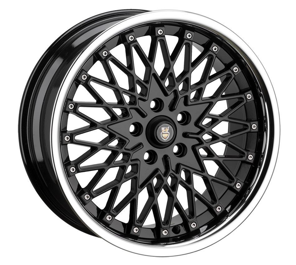 "17"" CADES Zeus Wheels - Black - VW / Audi / MINI - 4x100"