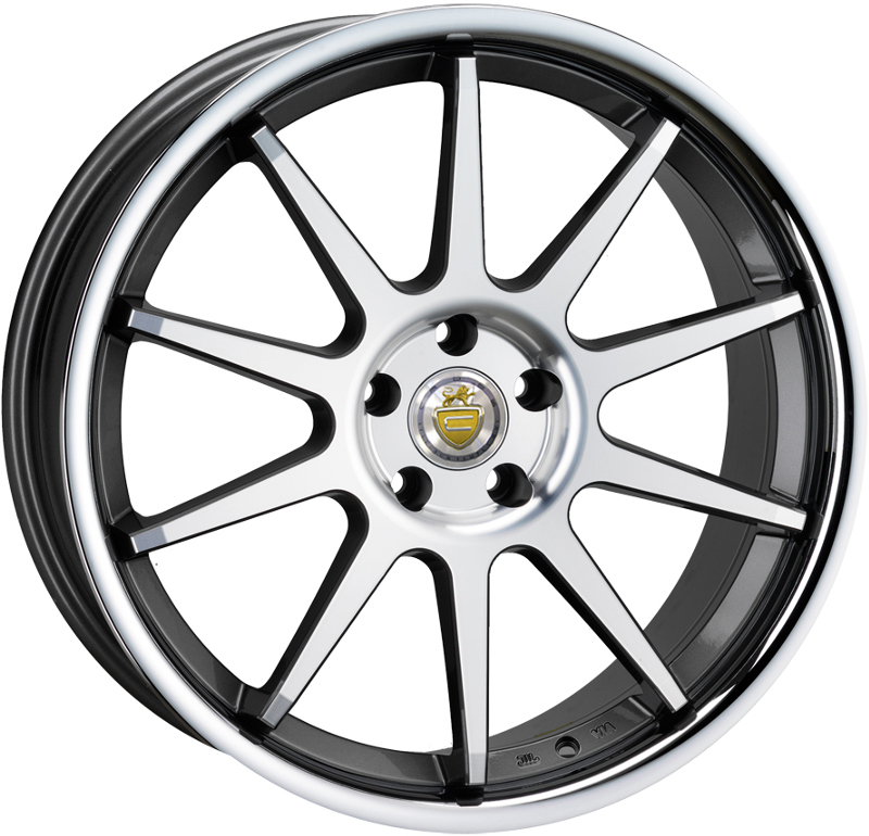 "20"" Staggered CADES Ixion Wheels - Gun Metal - Mercedes"