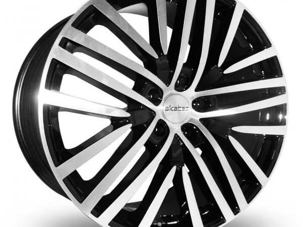 "22"" ALKATEC AKT 22 Wheels - Black Machined Face - 4x4 - 5x112"