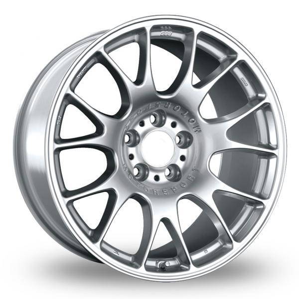 """18"""" BBS CH Style Wheels - Hyper Silver - E90 E91 E92 E93 F30 F10"""