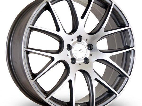 "18"" DARE NK1 Wheels - Gun Metal Polished Face - VW / Audi / Mercedes - 5x112"