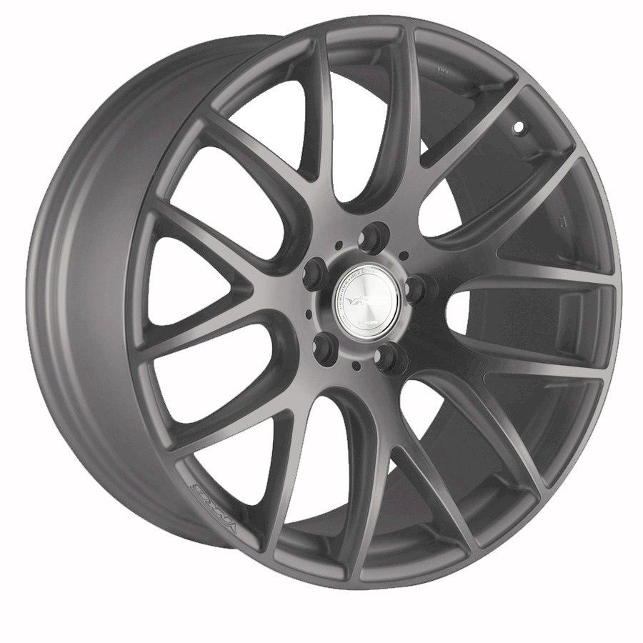 "19"" Staggered DARE NK1 Wheels - Matt Gun Metal - VW / Audi / Mercedes - 5x112"