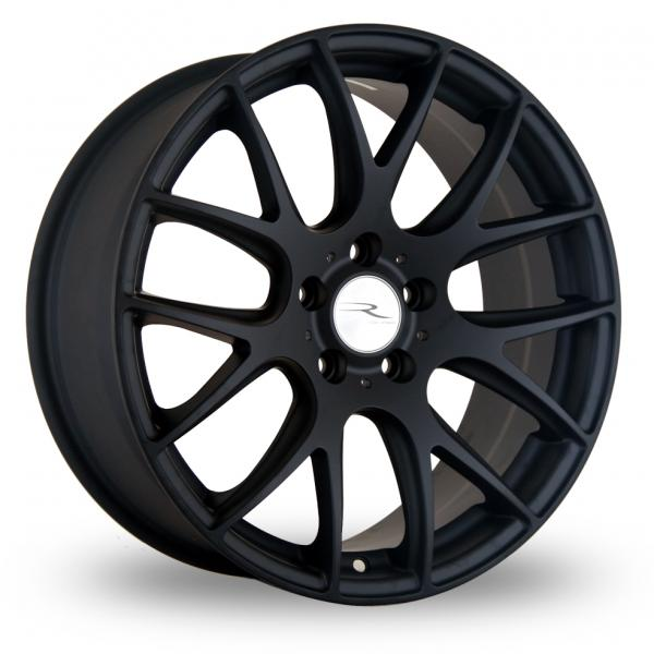"19"" Staggered DARE NK1 Wheels - Matt Black - VW / Audi / Mercedes - 5x112"