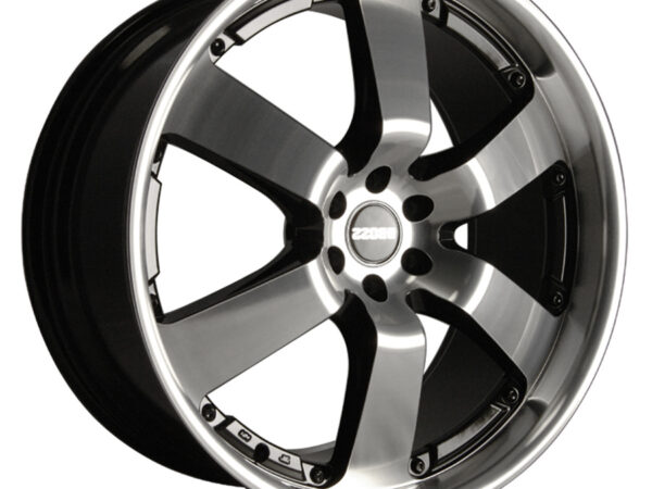 "20"" DARE Outlaw Wheels - Black / Polished Face - Nissan / Mitsubishi"