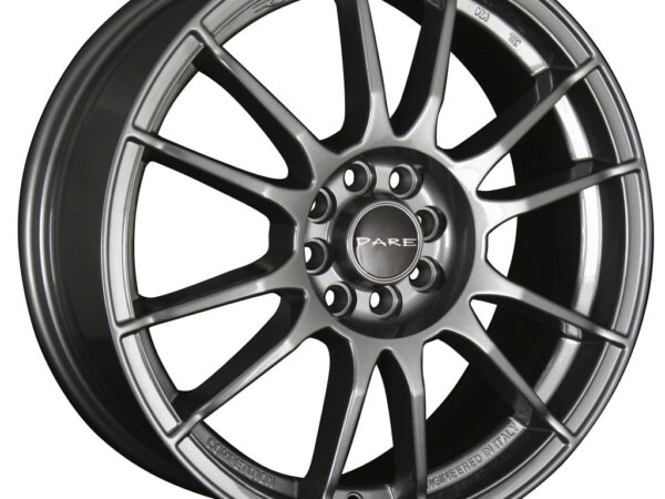 """17"""" DARE ST Wheels - Matt Graphite - VW / Audi - 5x100"""