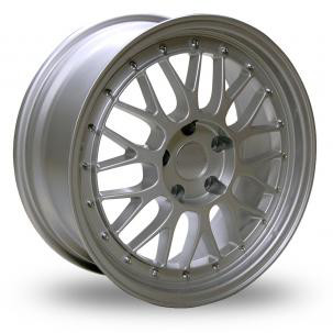"18"" BBS LM Style Wheels - Silver - E9x / E36 / E46 / Z4 / F30 / 1 Series"