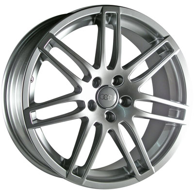"19"" RS4 Style Wheels - Silver - VW / Audi - 5x100"