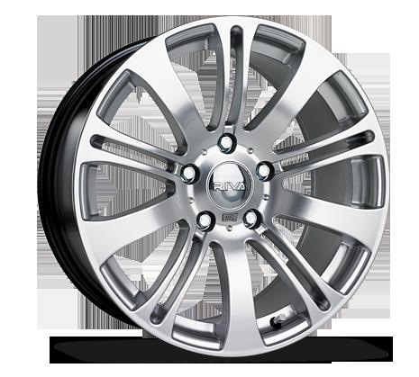 "18"" RIVA MVE Wheels - Hyper Silver - E9x / Z4 / E36 / E46 / 1 Series"