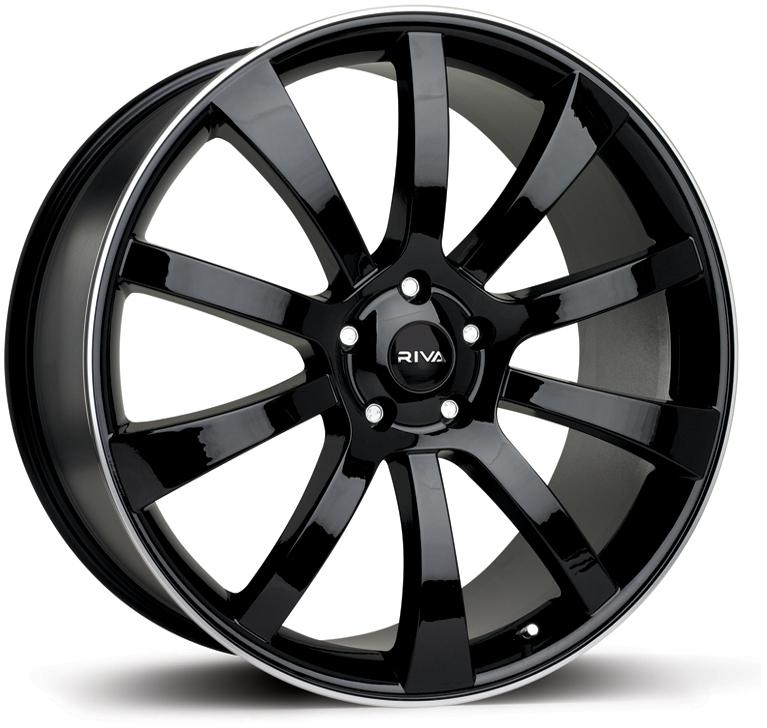 """22"""" RIVA SUV Wheels - Black - X3 / X5 / X6"""