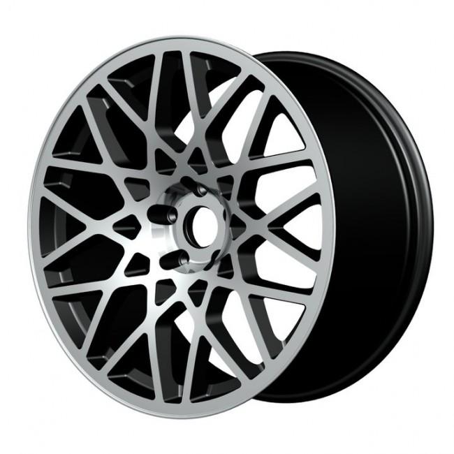 """19"""" Rotiform Style Wheels - Gun Metal - VW / Audi / Mercedes - 5x112"""