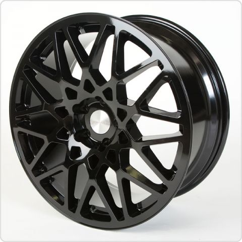 "18"" Rotiform Style Wheels - Matt Black - VW / Audi / Mercedes - 5x112"