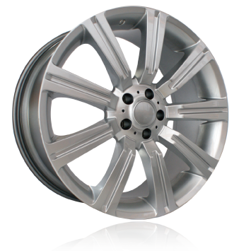 "20"" Stormer Style Wheels - Sliver - 4x4"