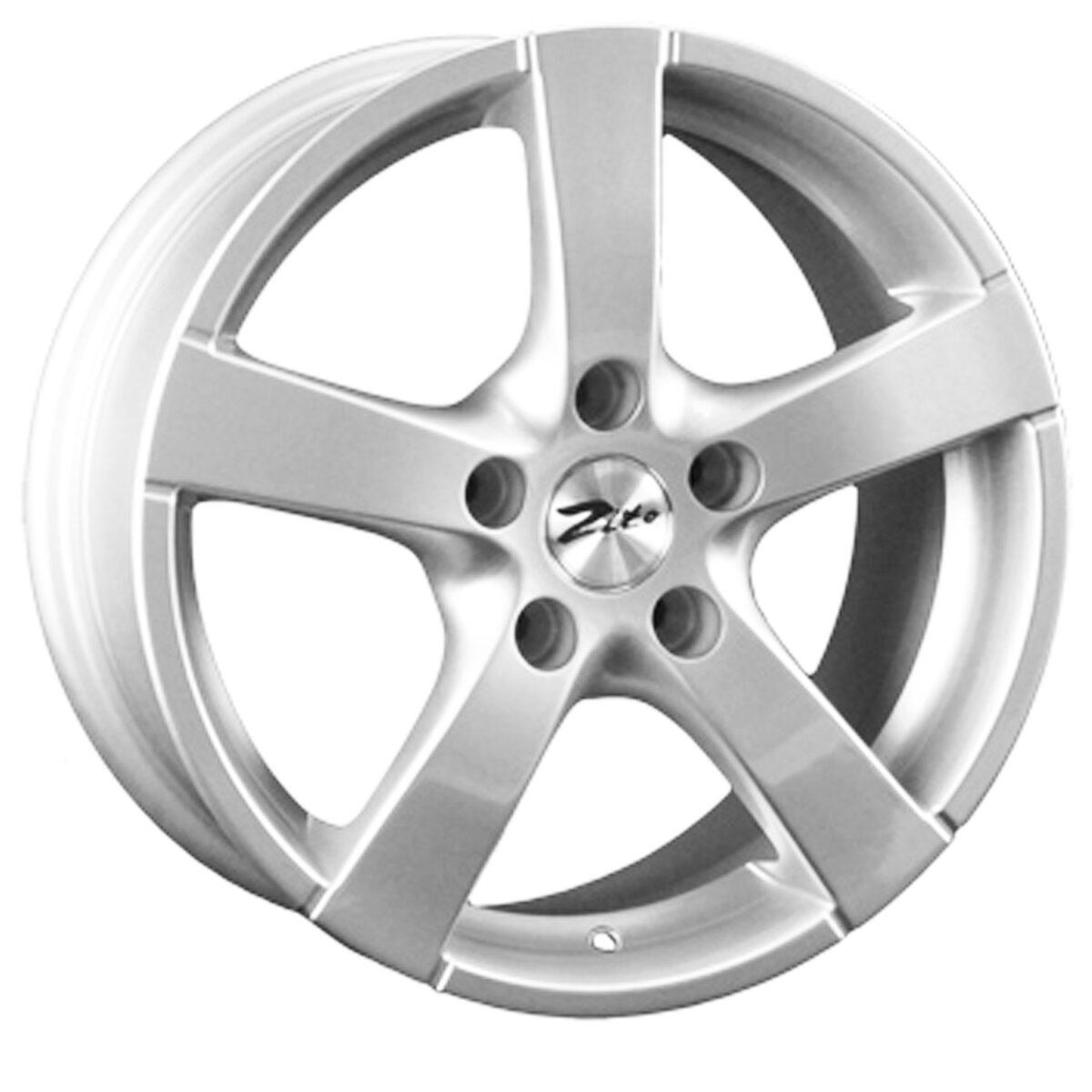"""15"""" ZITO 575 Wheels - Silver - VW / Audi - 4x108"""