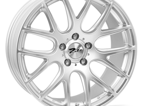 "18"" ZITO 935 Wheels - Hyper Silver - VW / Audi / Mercedes - 5x112"