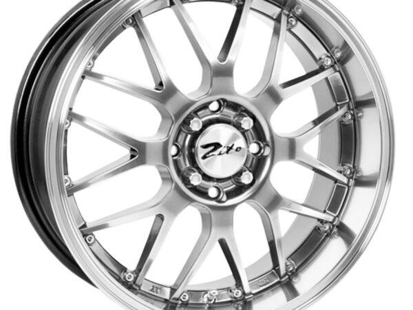 "17"" ZITO 938 Wheels - Hyper Black - 4x100 / 4x108"