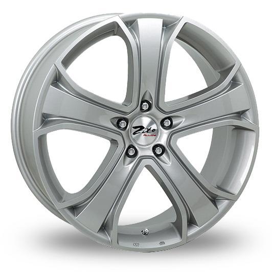 """16"""" ZITO Blazer Wheels - Silver - VW / Audi / Mercedes - 5x112"""