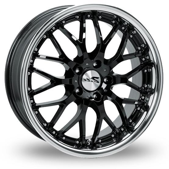 """19"""" ZITO Milano Wheels - Black / Inox Lip - E90 / E91 / E92 / E93"""