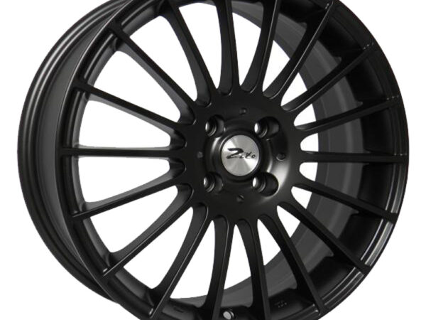 "17"" ZITO Spyder Wheels - Matt Black - VW / Audi / MINI - 4x100"