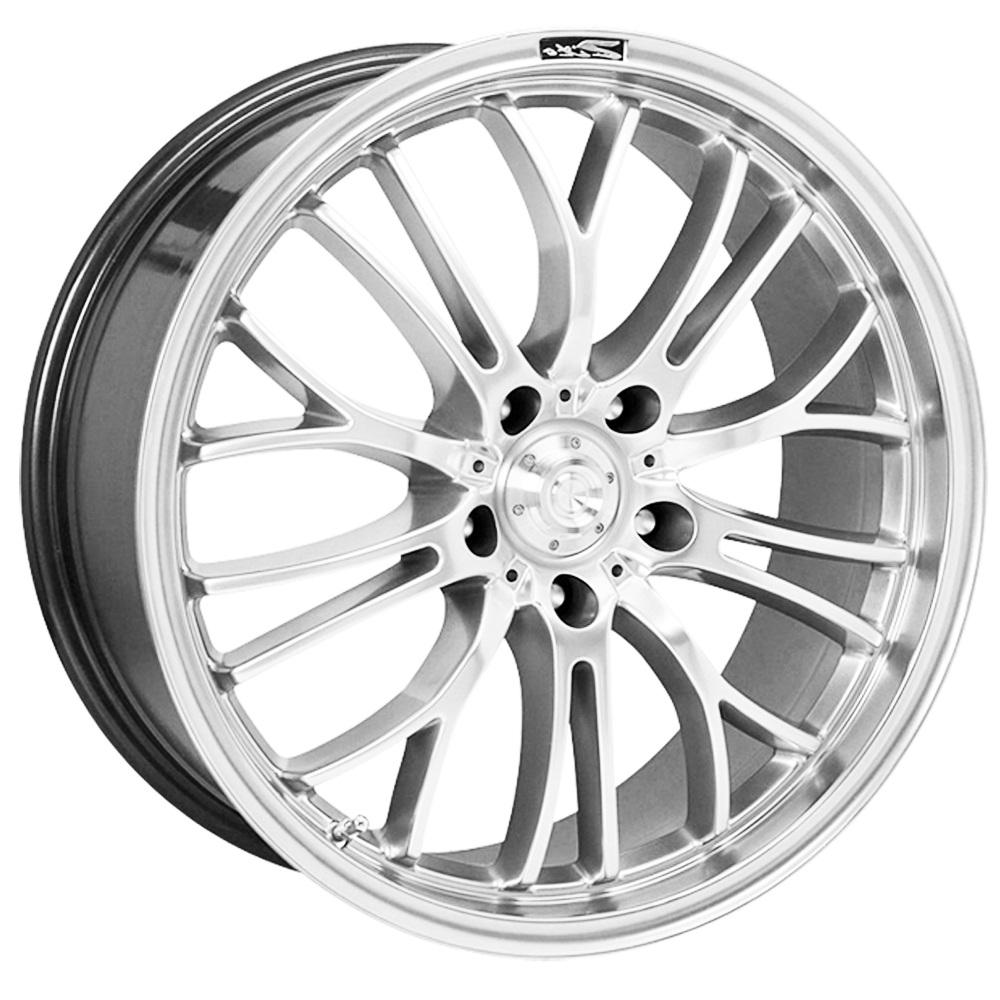 """17"""" ZITO Miracle Wheels - Hyper Black - VW / Audi / Mercedes - 5x112"""