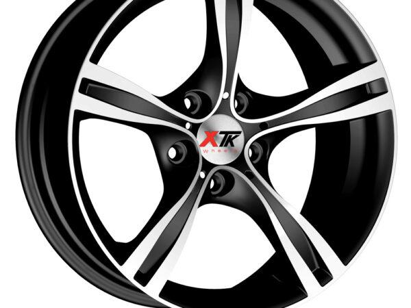 """18"""" XTK KD006 Wheels - Matt Black / Polished - 5 / 6 Series / E9x M3"""