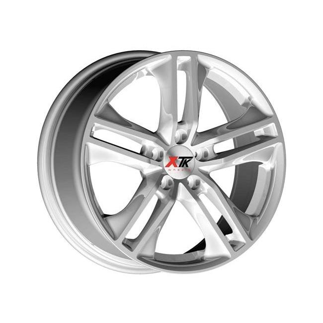 "18"" XTK KD007 Wheels - Silver - VW / Audi / Mercedes - 5x112"