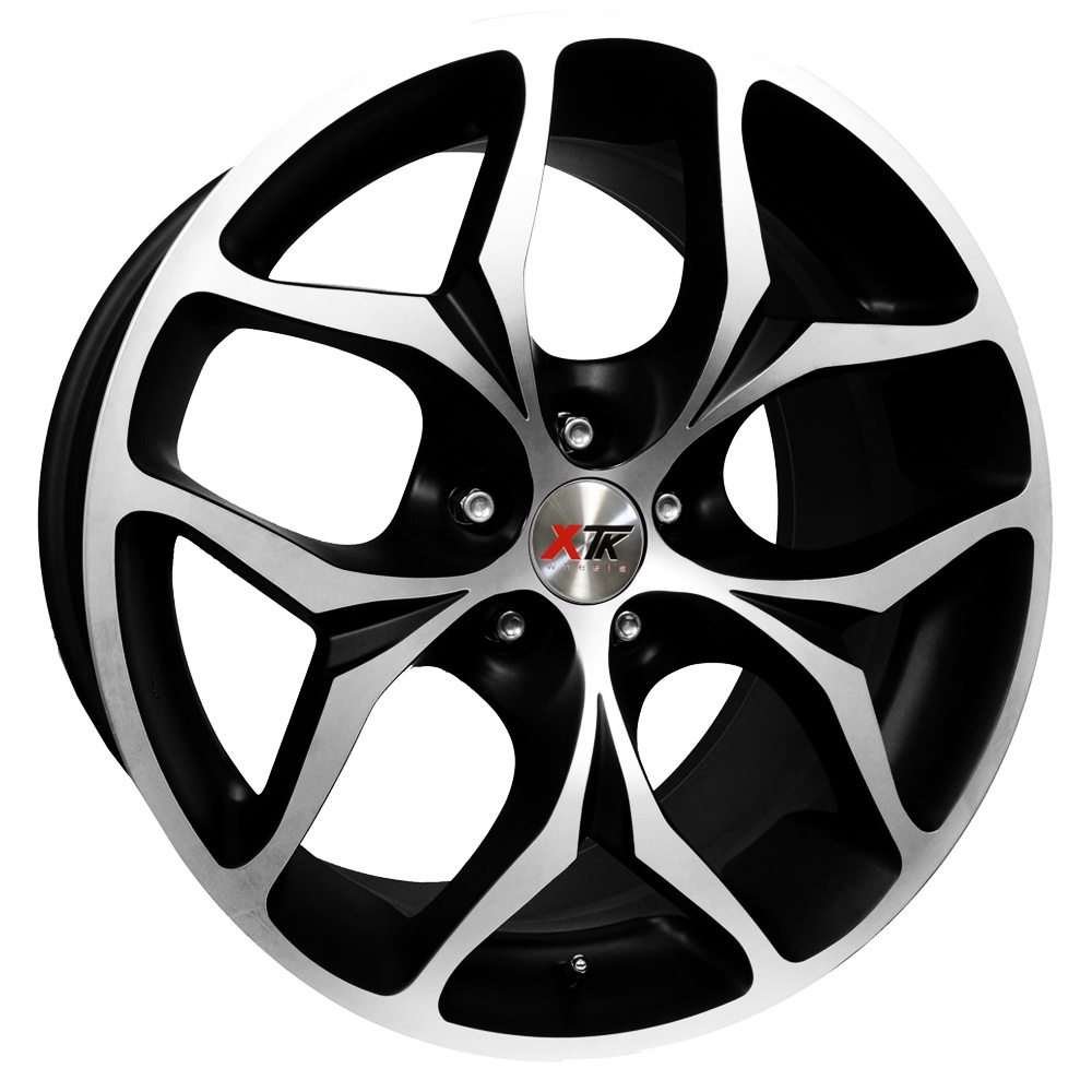 "20"" XTK KD008 Wheels - Black / Polished - X3 / X5 / X6"
