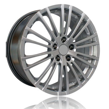 "18"" Golf R32 Style 1 Wheels - Gun Metal / Machined Face - VW / Audi - 5x100"