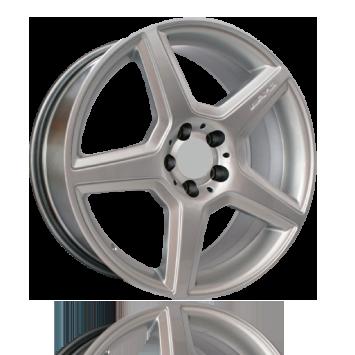 "18"" AMG 447 CLS Style Wheels - Hyper Silver - Mercedes - 5x112"