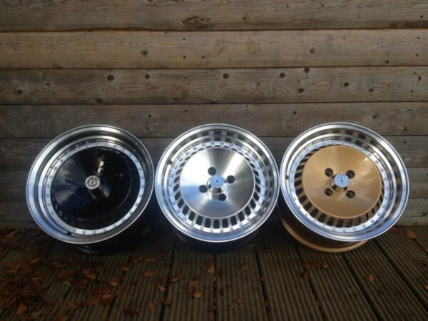 "15"" Schmidt TH-Line Style Wheels - 3 Colours Available - VW / Audi / MINI - 4x100"
