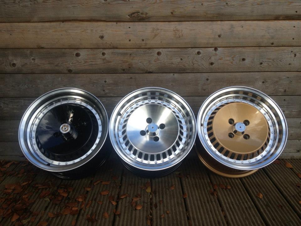 """15"""" Schmidt TH-Line Style Wheels - 3 Colours Available - VW / Audi / MINI - 4x100"""