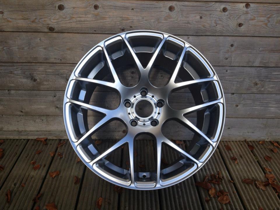 """19"""" Staggered Fox MS007 Wheels - Hyper Silver - E90 / E91 / E92 / E93 / F10 / F30"""