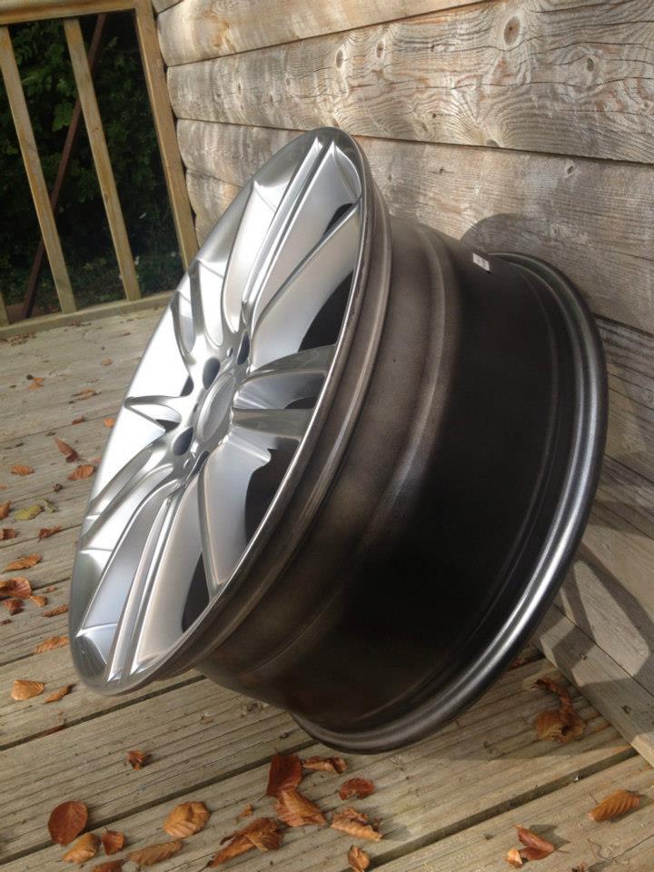 """19"""" MV3 Style Wheels - Hyper Silver - E9x / E36 / E46 / Z4"""