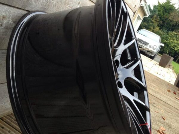 "18"" Staggered ZITO 935 Wheels - Black - E90 / E91 / E92 / E93"