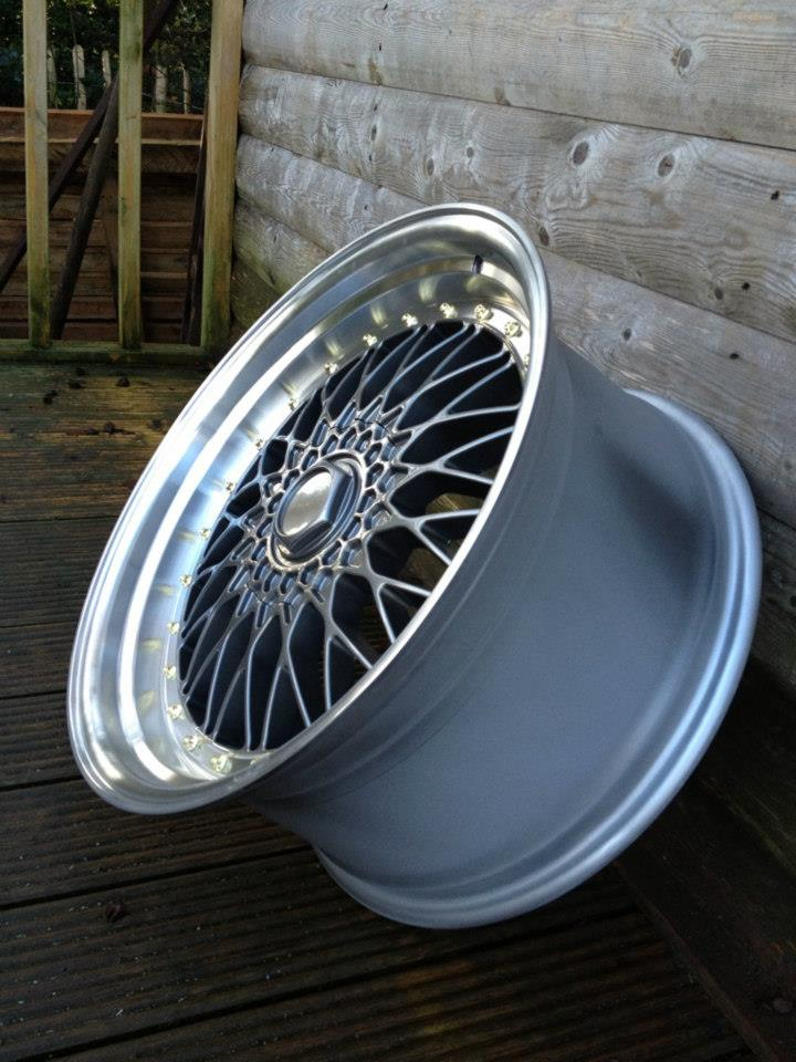 "19"" Staggered BBS RS Style Wheels - Gun Metal / Polished - All Fitments Available"