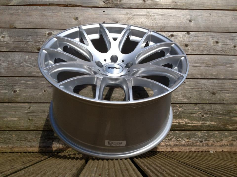 "18"" Staggered 935 Style Wheels - Hyper Silver - VW / Audi / Mercedes - 5x112"