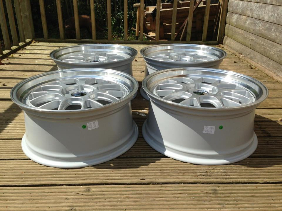 19″ Staggered BBS LM-R Style Wheels – Silver / Polished ...