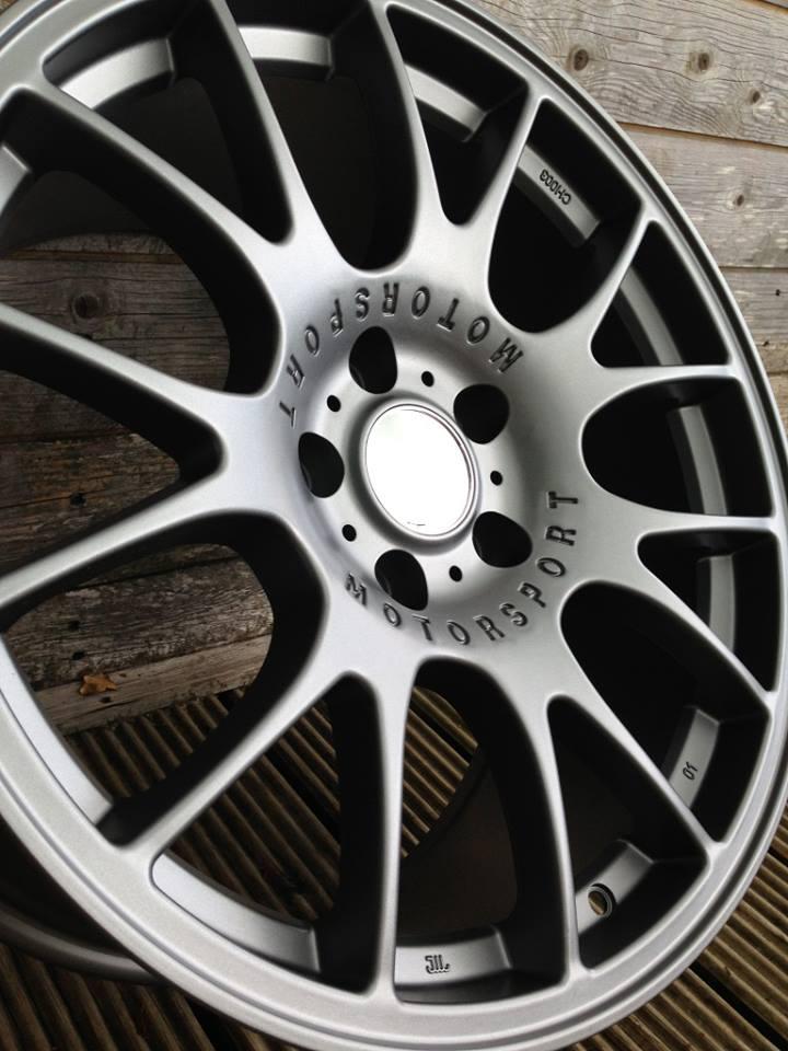 """19"""" Staggered BBS CH Style Wheels - Gun Metal - E9x / E36 / E46 / Z4"""