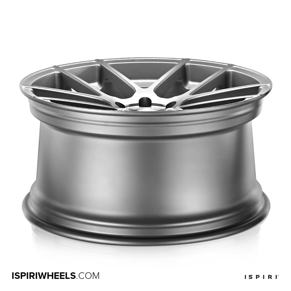 "19"" Staggered ISPIRI ISR6 Wheels - Matte Silver / Machined - E90 / E91 / E92 / E93"