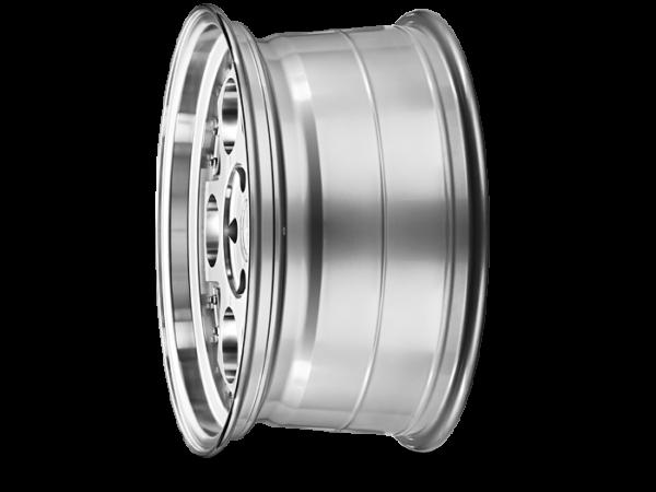 "18"" Staggered ISPIRI CSR4 Wheels - Silver Machined / Polished - E9x / E36 / E46 / F30"