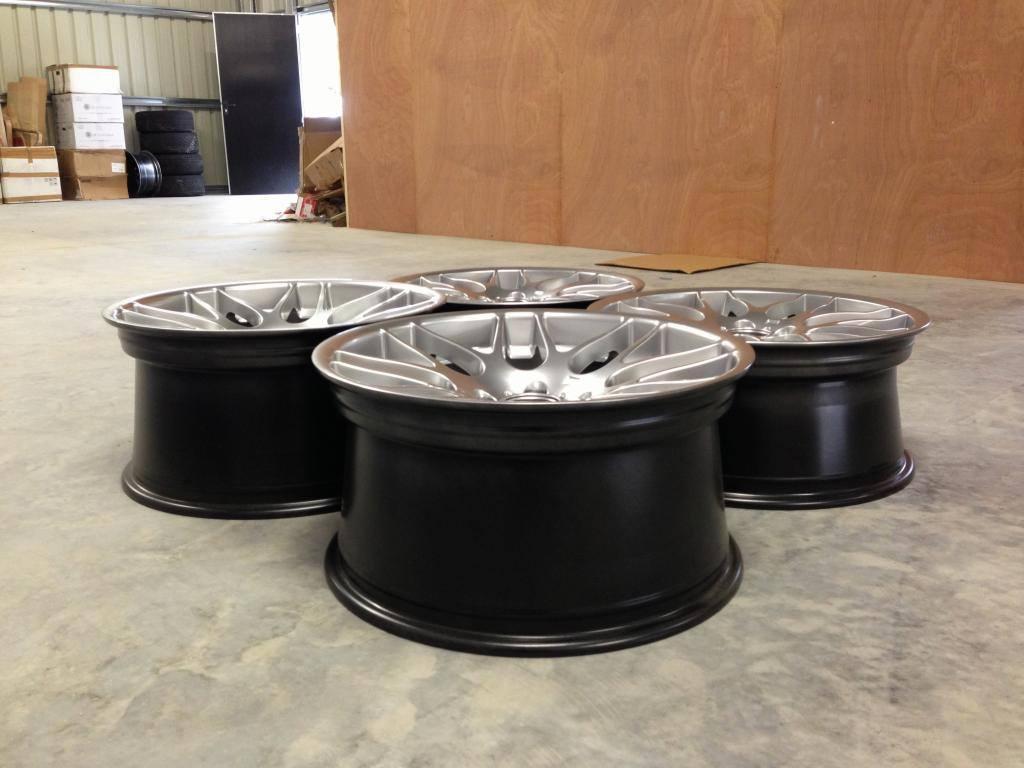 "19"" Staggered Atomic CSL Wheels - Hyper Silver - E90 / E91 / E92 / E93"