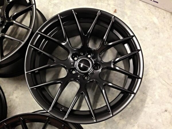 "19"" Staggered Avant Garde M359 Wheels - Satin Black - E90 / E91 / E92 / E93"